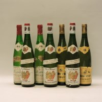 Lot 13-Assorted Alsace Wines to include: Vin d'Alsace