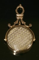 Lot 4-A Georgian style gold memorial swivel seal