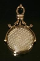 Lot 4-A Georgian style gold memorial swivel seal