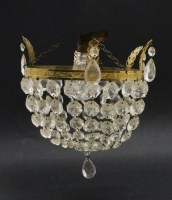 Lot 52-A ceiling light