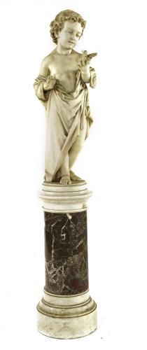 Lot 141 - An Italian marble sculpture of a boy