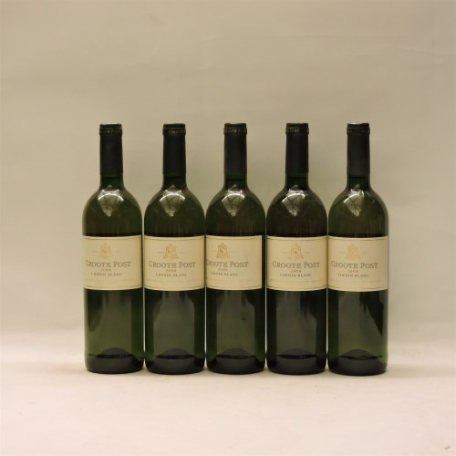 Lot 26-Assorted Groote Post to include: Chenin Blanc
