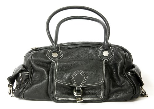 Lot 1012-A Marc Jacobs black leather handbag
