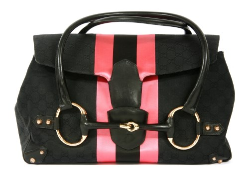 Lot 1015-A Gucci by Tom Ford horse bit tote handbag