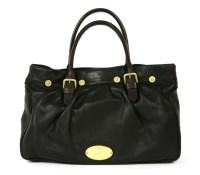 Lot 1026-A Mulberry 'Mitzy Shopper' black leather handbag
