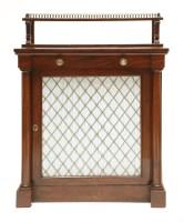 Lot 37 - A Victorian mahogany chiffonier