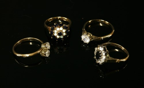 Lot 8-Four assorted rings