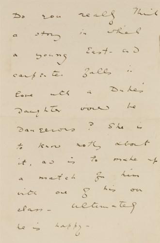 Lot 74 - Oscar Wilde- Autograph Letter