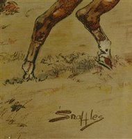 Lot 16-*Charles Johnson Payne, called 'Snaffles' (1884-1967)