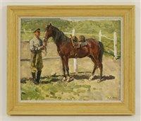 Lot 48-Boris Sporykhin (Russian, b.1928)