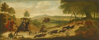 Lot 21-Circle of James Ross (1700-1760)