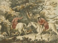 Lot 17-John Wright, after George Morland