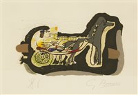Lot 1-*Georges Braque (French, 1882-1963)