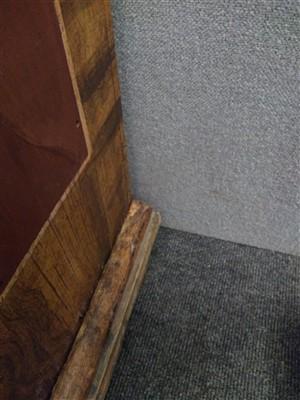 Lot 698-An Austrian painted pine wardrobe