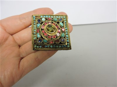 Lot 12-A collection of Tibetan jewellery