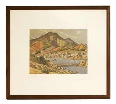 Lot 21-*Ethelbert White RWS (1891-1972)