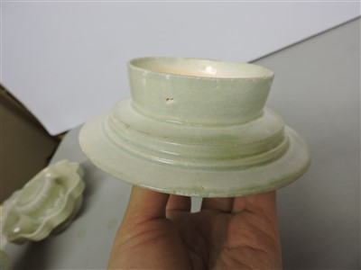 Lot 16-A Chinese qingbai ware cup stand