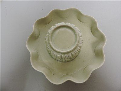 Lot 18 - A Chinese qingbai ware cup stand