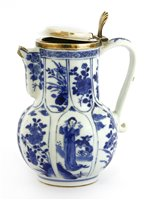 Lot 45-A Chinese blue and white jug