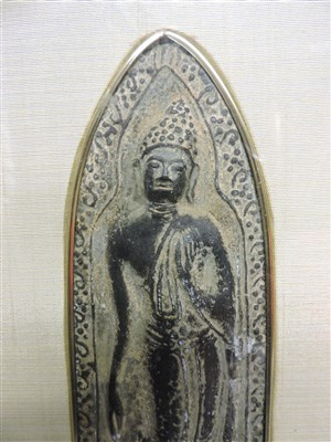 Lot 3-A Thai bronze votive plaque
