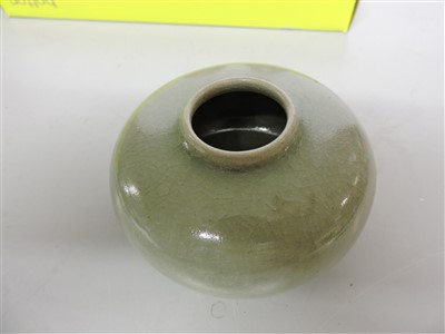 Lot 21-A collection of Chinese Longquan celadon jarlets