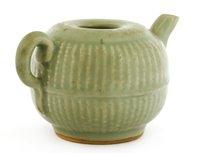 Lot 25-A Chinese Longquan celadon teapot