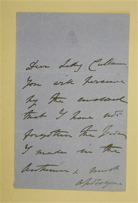 Lot 258 - Sir Thomas & Lady Cullum: Large AUTOGRAPH ALBUM