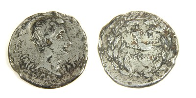 Lot 4-Ancient coins, Roman, Augustus (27 BCE-14CE)