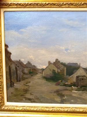 Lot 410-Adolphe-Felix Cals (French, 1810-1880)
