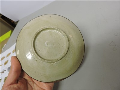 Lot 27-A Chinese Ding ware dish