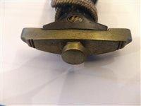 Lot 147 - A 1936 pattern Nazi SS dress dagger
