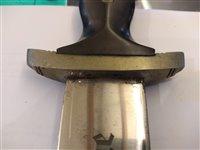 Lot 147-A 1936 pattern Nazi SS dress dagger