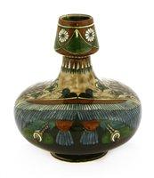 Lot 8-A Dutch pottery vase