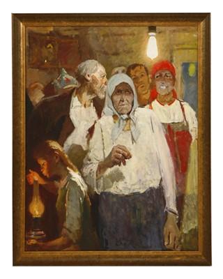 114 - Evgeni Nisonovich Levin (Russian, 1922-1993)