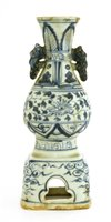 Lot 31-A Chinese blue and white vase