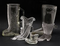 Lot 313 - A large quantity of glass boots