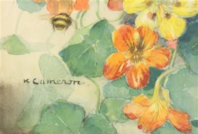 Lot 456-*Katherine Cameron RWS (1874-1965)