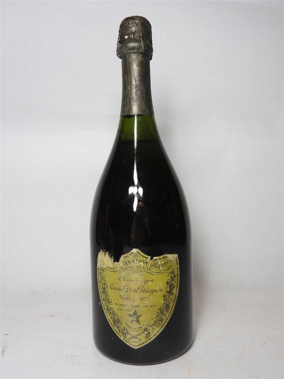 Lot 27-Moët et Chandon, Dom Perignon, 1970, one bottle