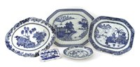Lot 50-A collection of Chinese blue and white