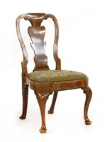 Lot 511-A George I walnut single chair