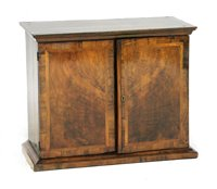 Lot 514-A William and Mary walnut spice cabinet