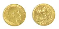 Lot 42-Coins, Great Britain, Edward VII (1901-1910)