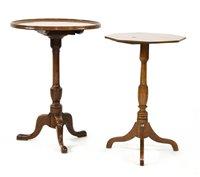 Lot 539-A George III mahogany tripod table