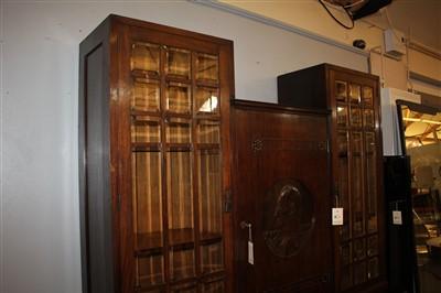 Lot 19-A mahogany side cabinet