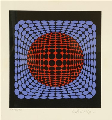 Lot 43-*Victor Vasarely (1906-1997)