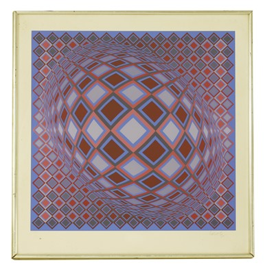 Lot 42-*Victor Vasarely (1906-1997)