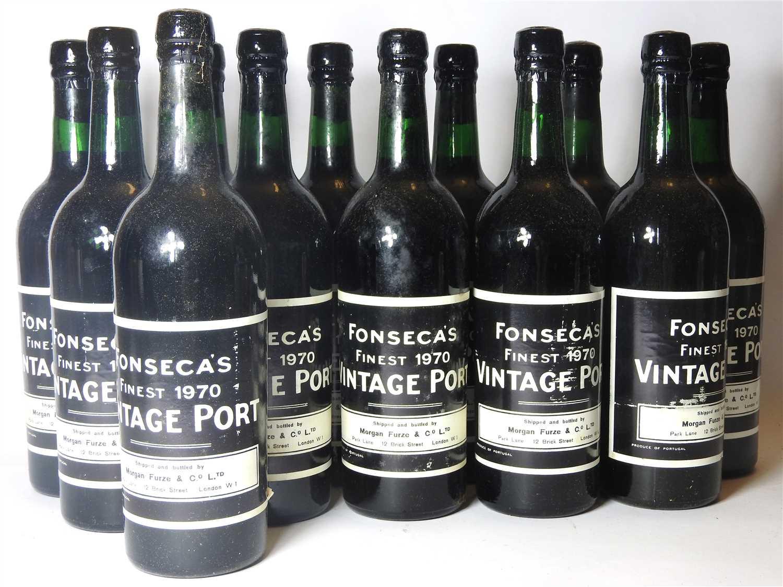 103 - Fonseca's Finest, 1970, twelve bottles (boxed)
