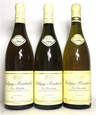 Lot 25-Assorted Etienne Sauzet, Puligny-Montrachet, three bottles in total