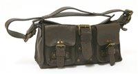 Lot 761-A Mulberry oak leather mini Roxanne handbag