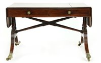 Lot 521-A Regency mahogany sofa table